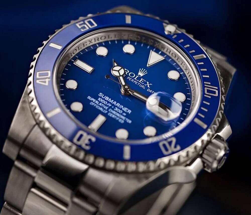 Đồng hồ Rolex Submariner 116619LB - Smurf