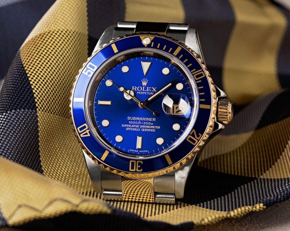 Đồng hồ Rolex Submariner 16613 - Bluesy
