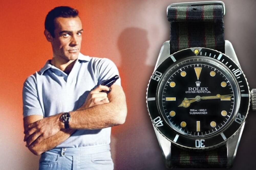 Đồng hồ Rolex Submariner 6538 - James Bond (Sean Connery)