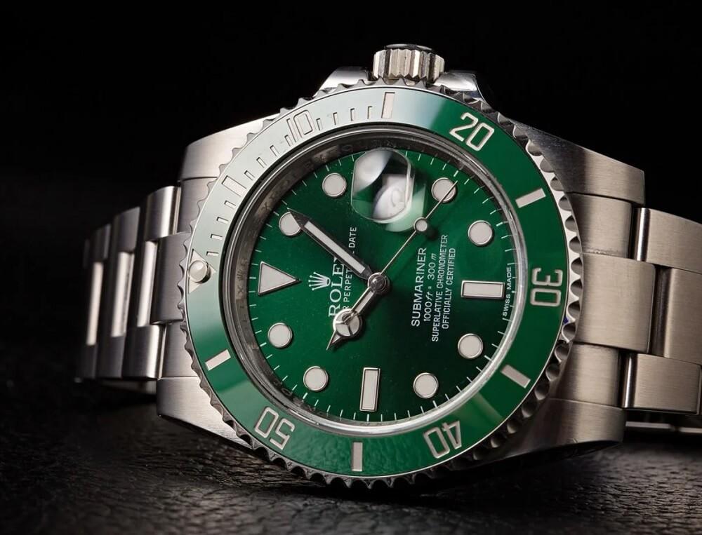 Đồng hồ Rolex Submariner 116610LV - Hulk