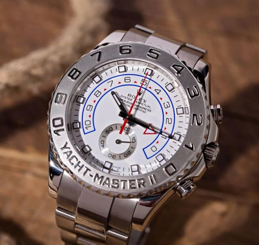 Đồng hồ Rolex Yacht-Master II Ref. 116689 vàng Trắng và Bạch Kim
