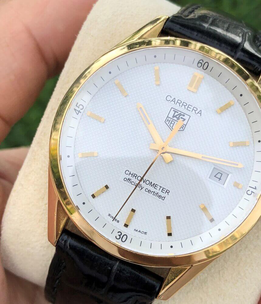 Đồng hồ TAG Heuer Carrera WV5140 Vàng khối 18k Size 39mm