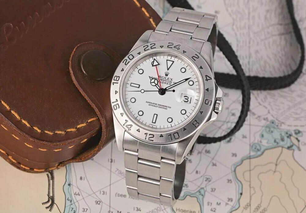 Hướng dẫn mua đồng hồ Rolex Explorer II