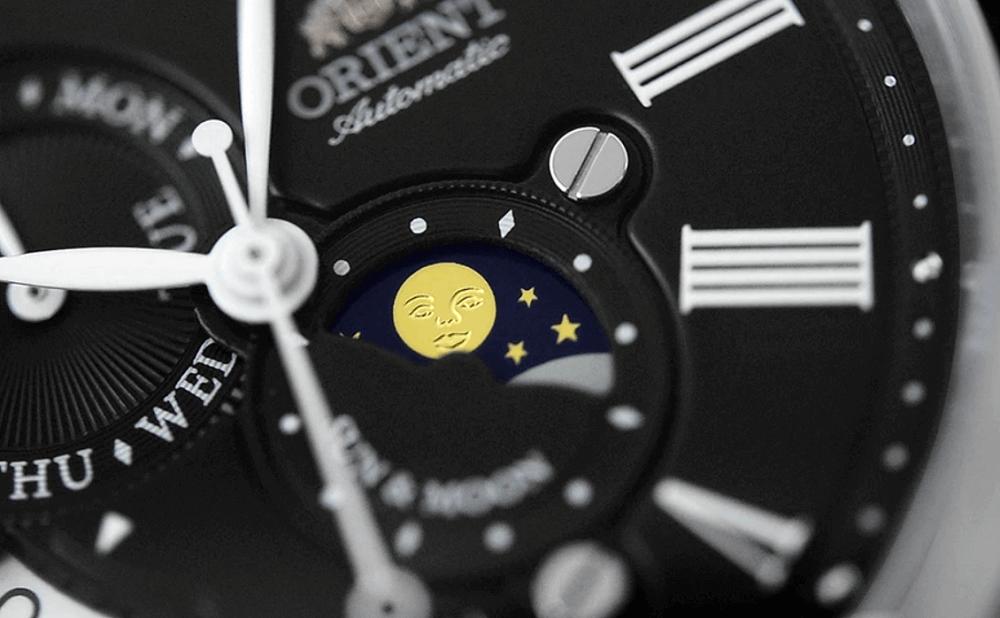 Orient Sun And Moon đồng hồ phức tạp giá cả phải chăng