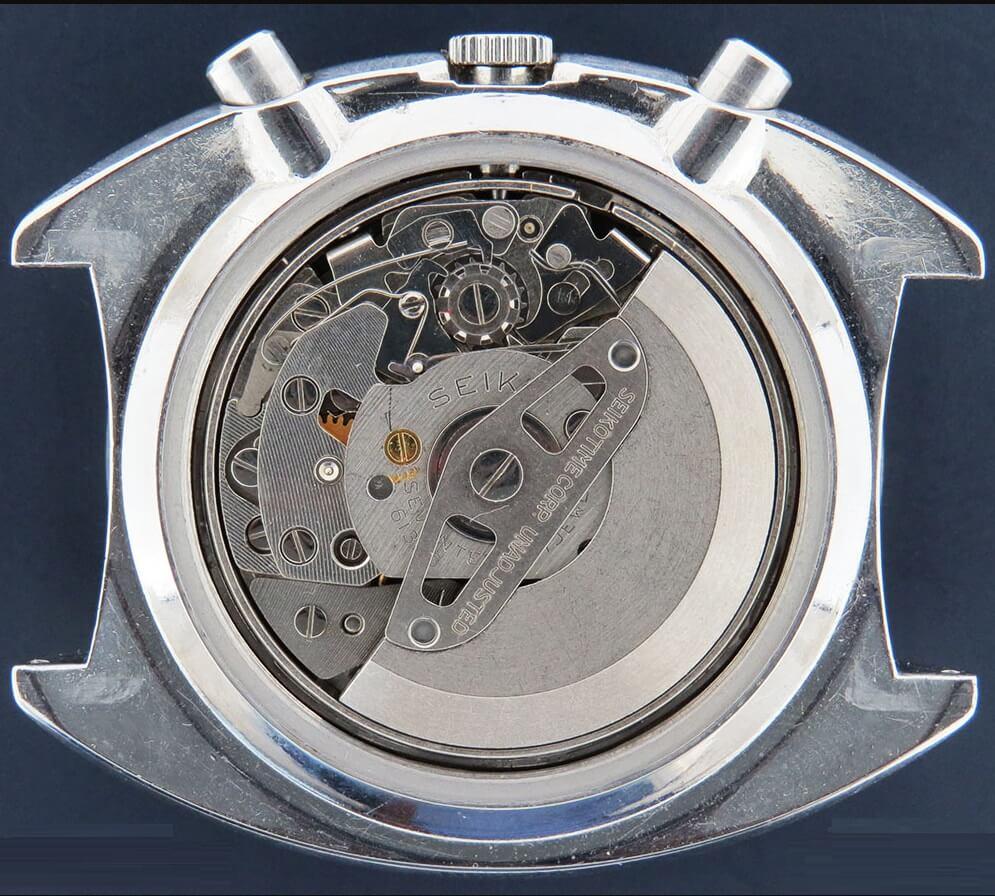 Bộ máy Seiko Calibre 6139B Automatic