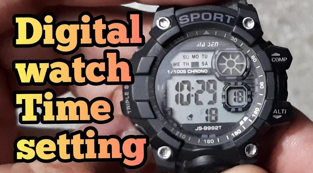 Hướng dẫn cách cài đặt thời gian cho đồng hồ điện tử
