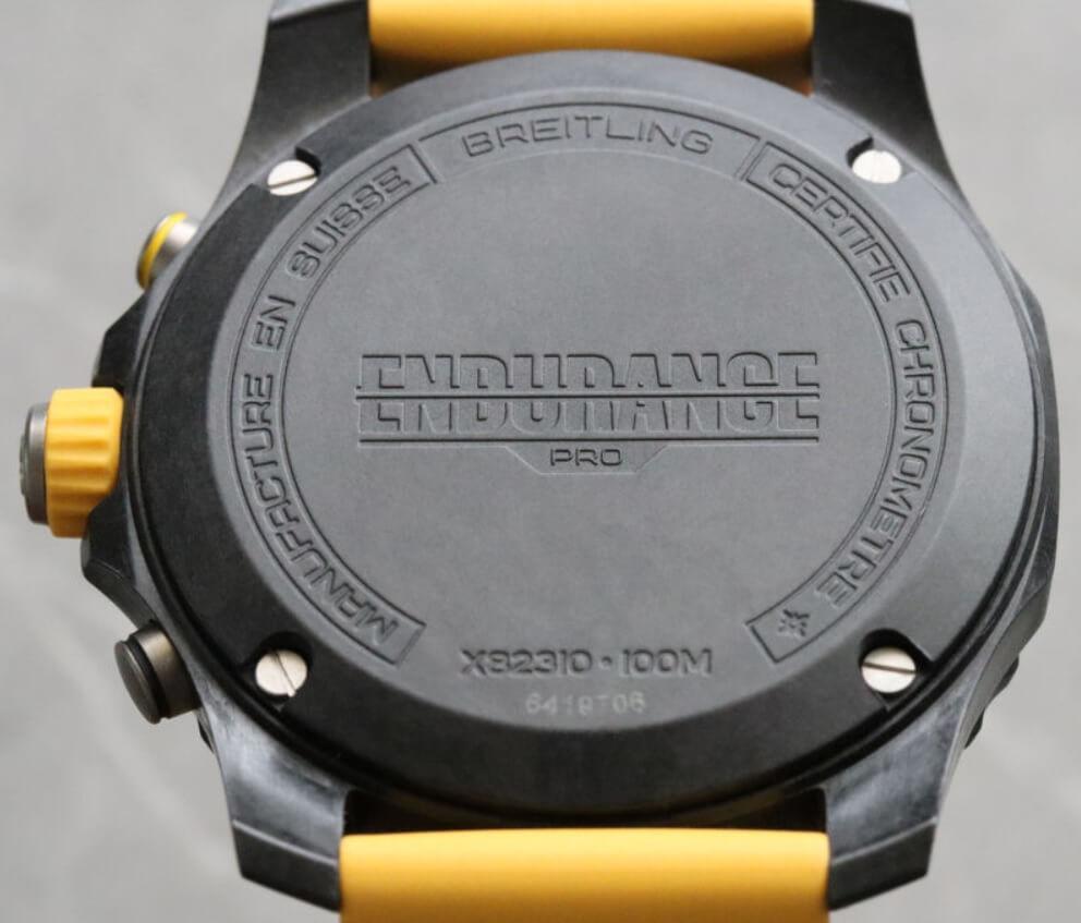 Đồng hồ Breitling Endurance Pro - Caseback