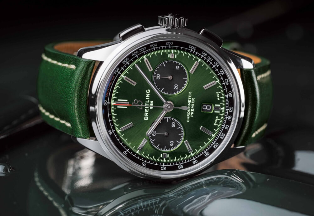 Đồng hồ Breitling Premier B01 Chronograph 42 Bentley British Racing Green