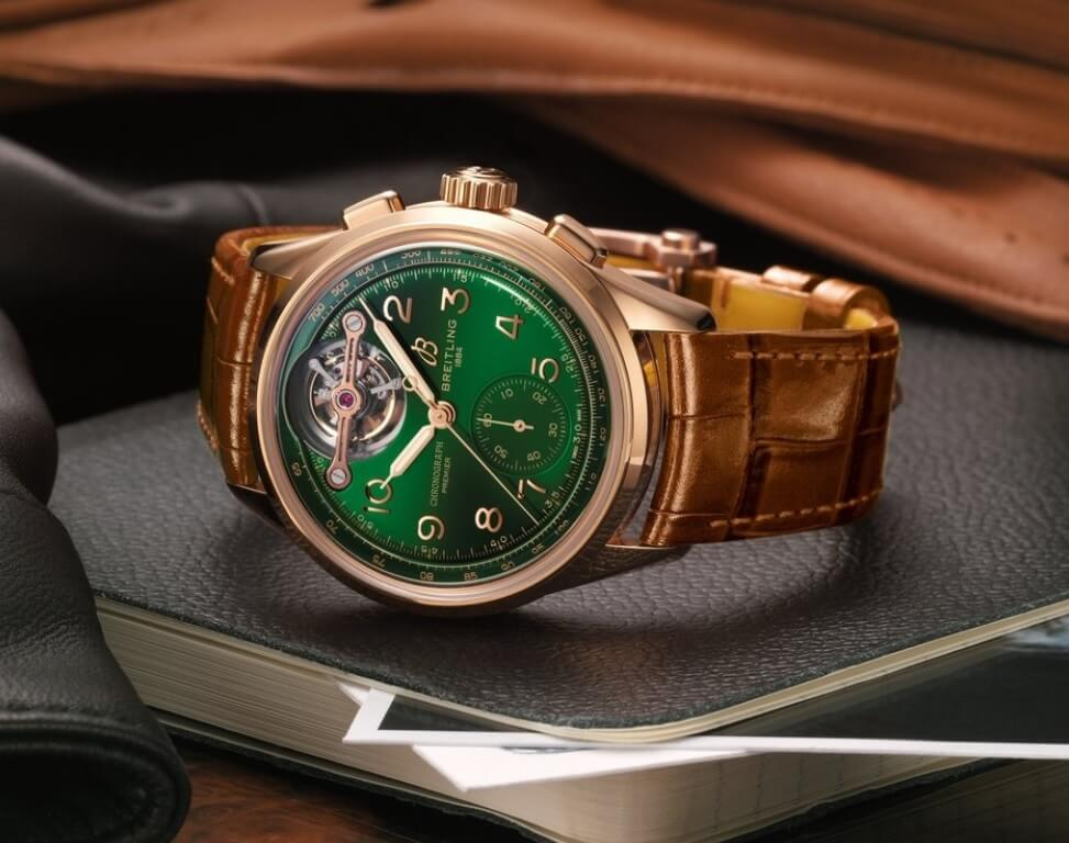 Đồng hồ Breitling Premier B21 Chronograph Tourbillon 42 Bentley Limited Edition Ref. RB21201A1L1P1