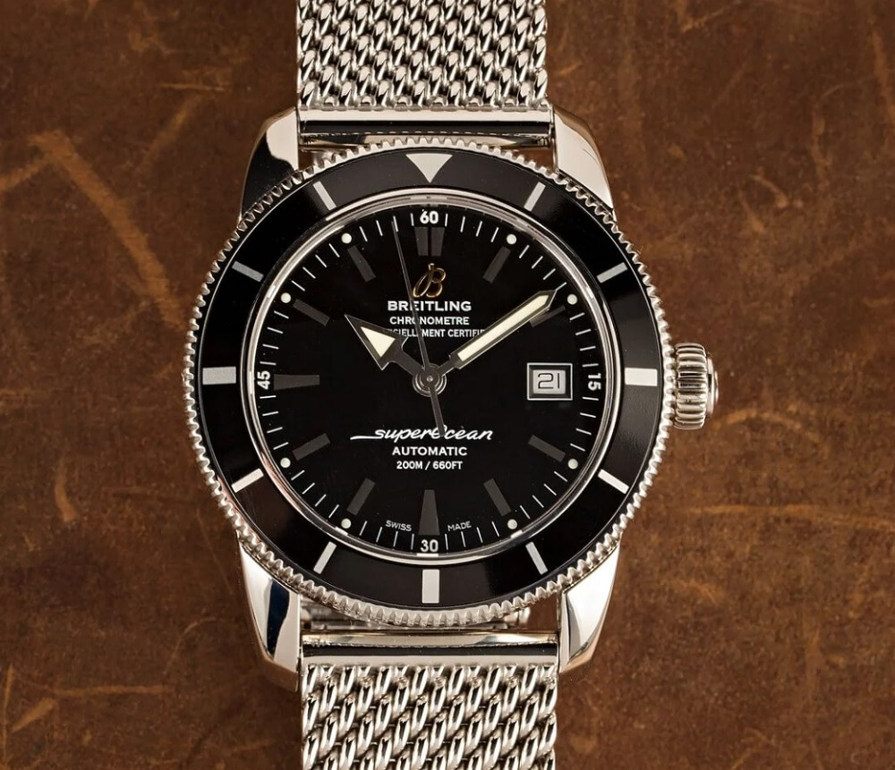 Đồng hồ Breitling Superocean Heritage Black Dial