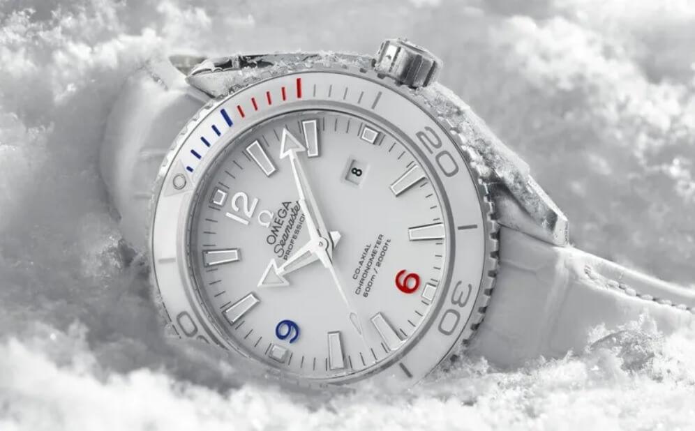 """Đồng hồ Omega Seamaster Planet Ocean """"Sochi 2014"""" Limited Edition"""