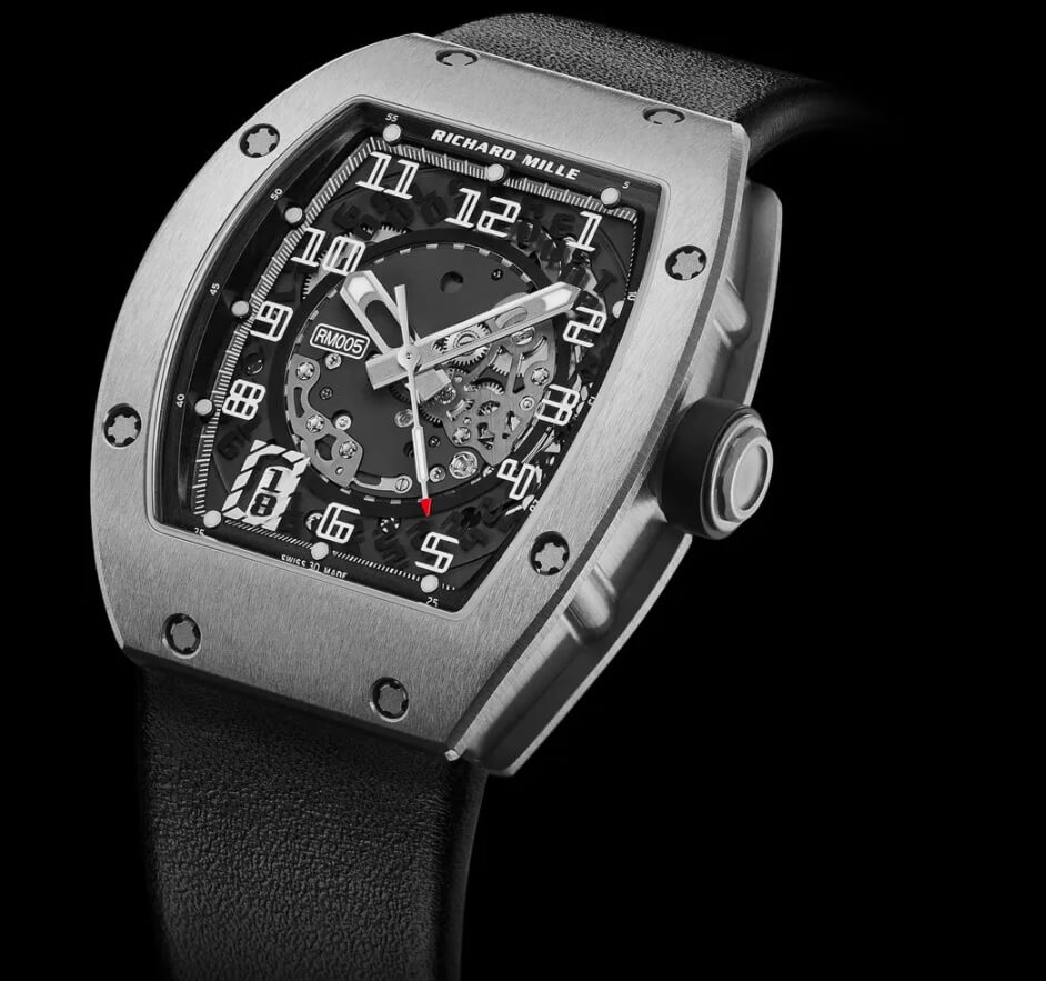 Đồng hồ Richard Mille RM 005 ở mức giá 45.000 USD