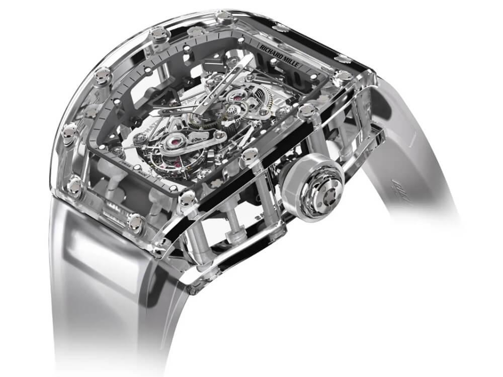 Đồng hồ Richard Mille Tourbillon RM 56-02 Sapphire với giá 2 triệu USD