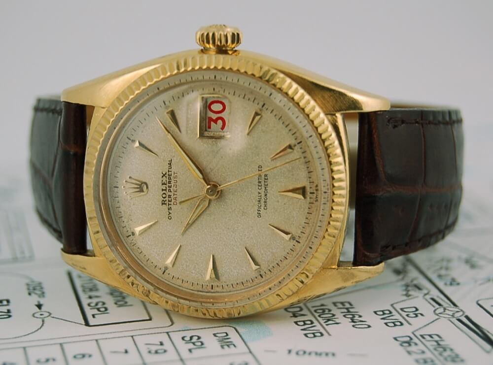 Đồng hồ Rolex Datejust 36 Ref. 6305 - Vàng 18k nguyên khối