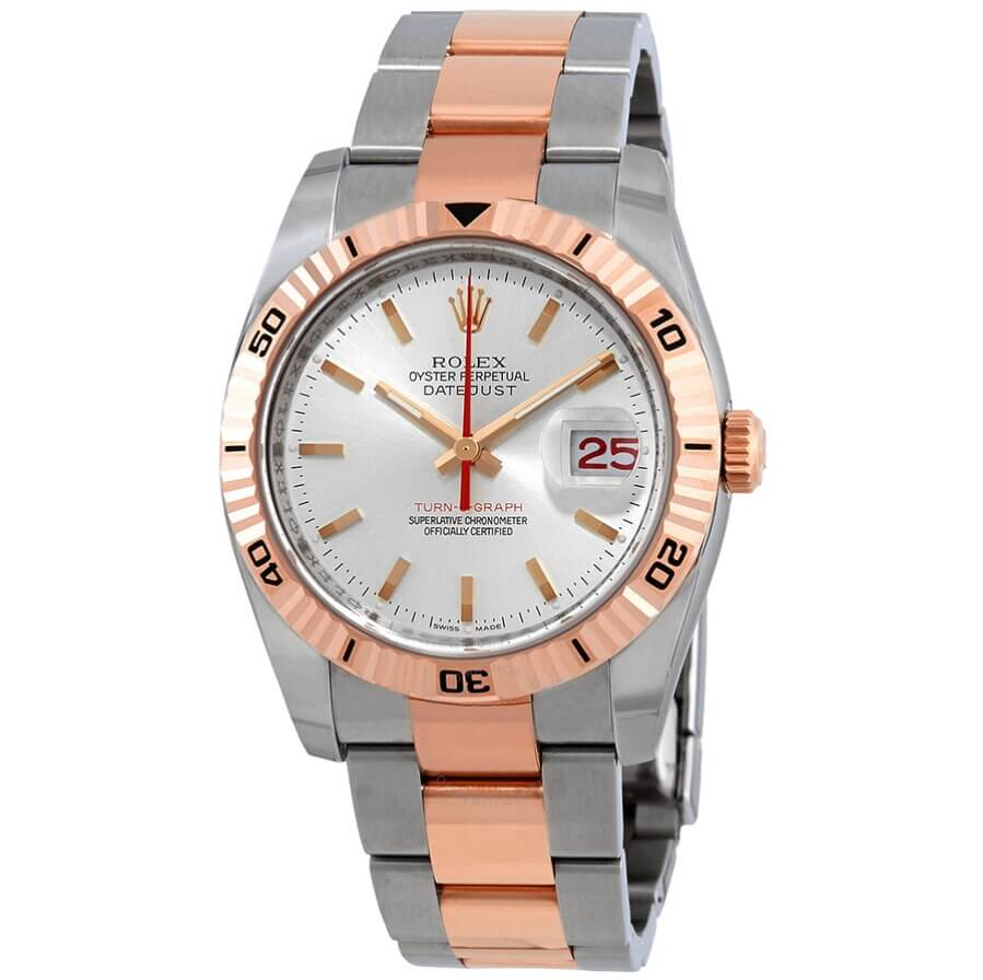 Đồng hồ Rolex Datejust Turn O Graph 116261-SSO