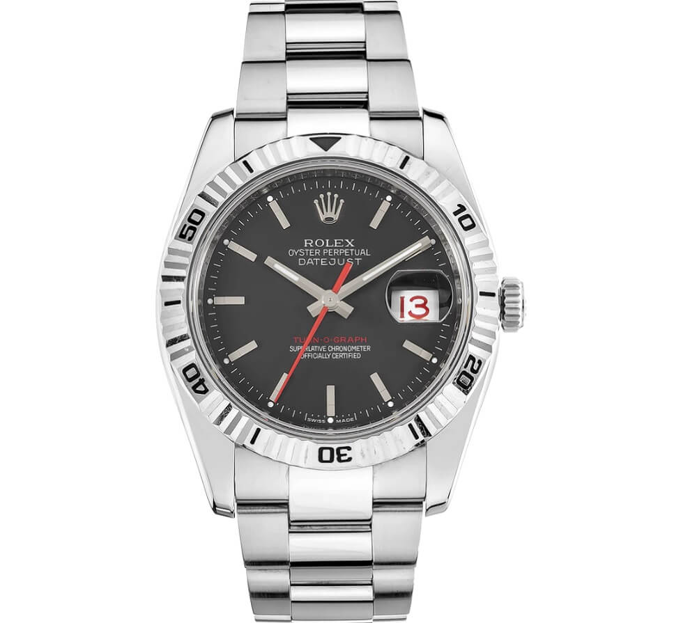 Đồng hồ Rolex Datejust Turn-O-Graph 116264 Black Dial