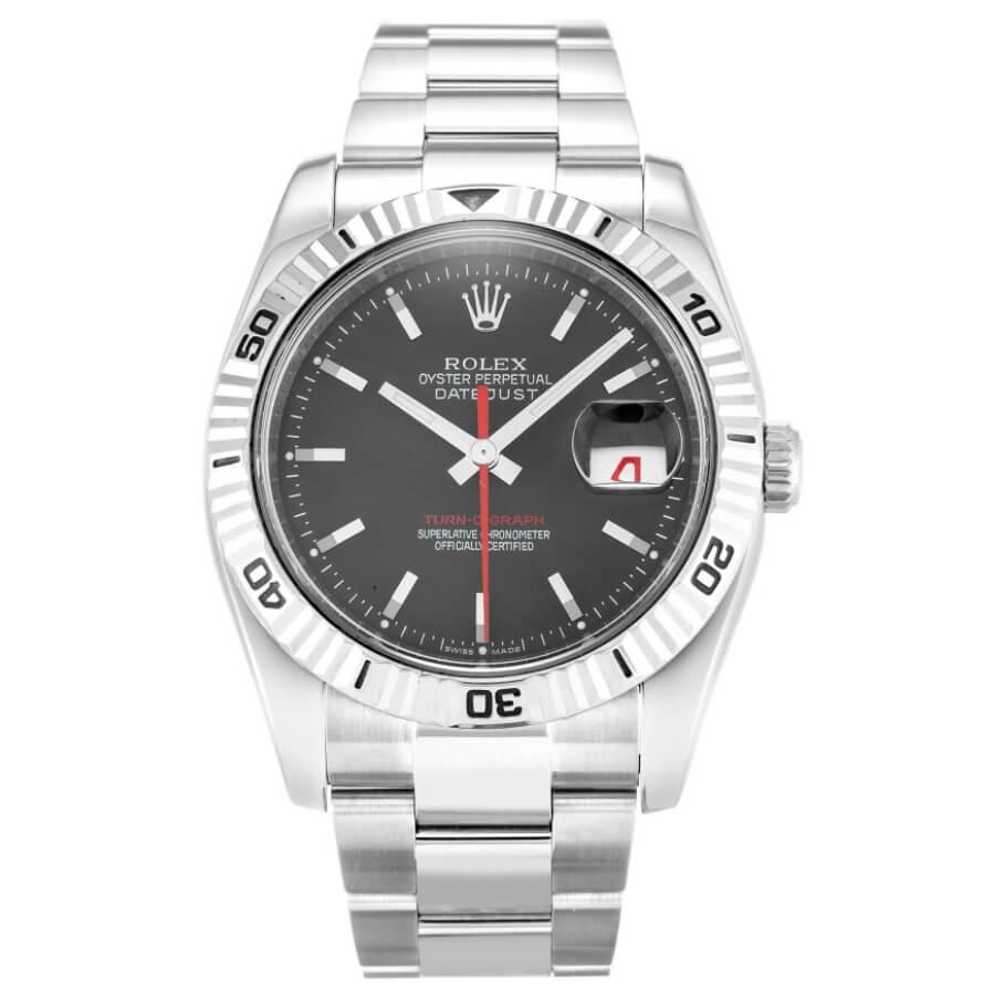 Đồng hồ Rolex Datejust Turn O Graph Black Oyster 116264