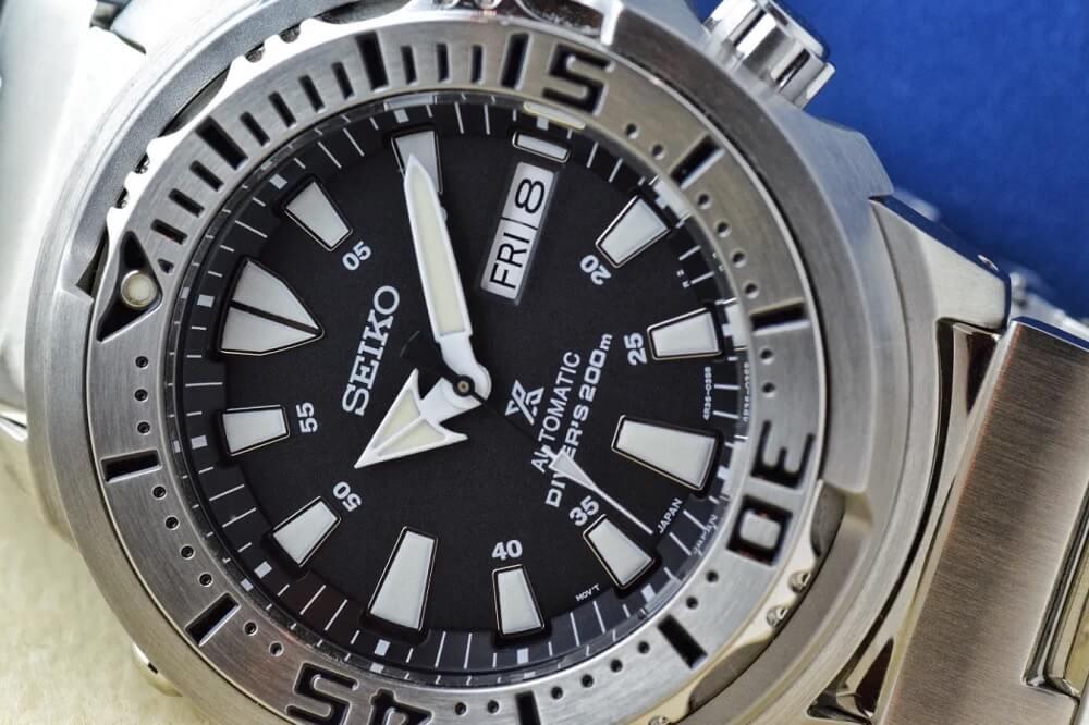 Mặt số đồng hồ Seiko Baby Tuna SRP637