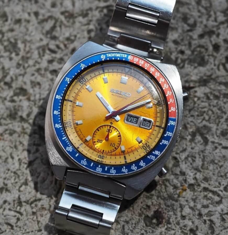 Đánh giá đồng hồ Seiko Pogue 6139-6005