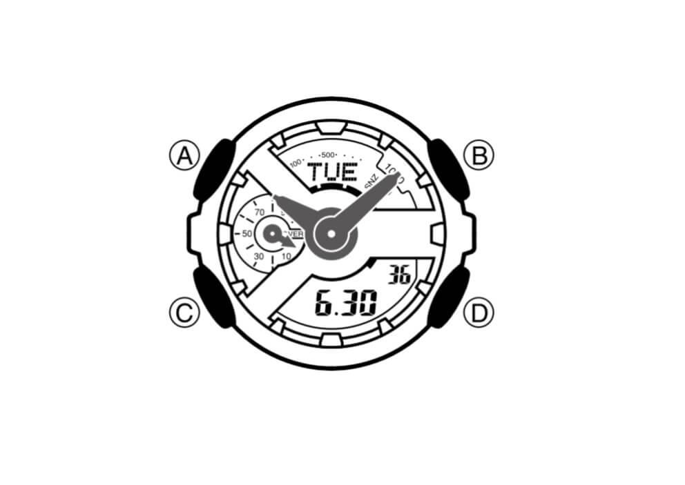 Tìm hiểu về chiếc đồng hồ G-Shock 5146 trước khi cài đặt thời gian