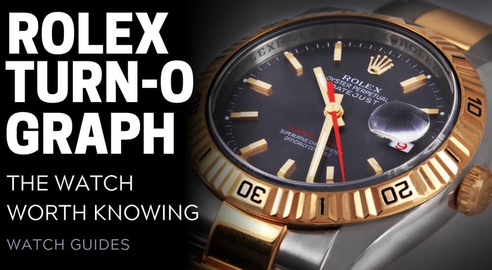 Rolex Turn O Graph chiếc đồng hồ công cụ tiên phong của Rolex