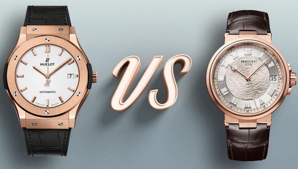 Hublot với Breguet thương hiệu đồng hồ nào tốt hơn?