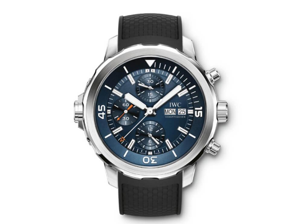 Đồng hồ IWC Schaffhausen Aquatimer Chronograph Edition Expedition Jacques-Yves Cousteau