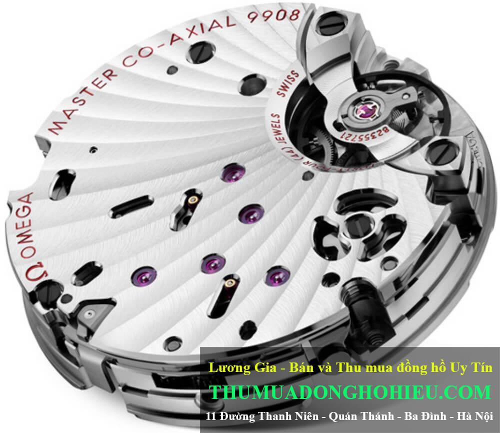 Bộ máy Omega Co-Axial Master Chronometer Caliber 9908