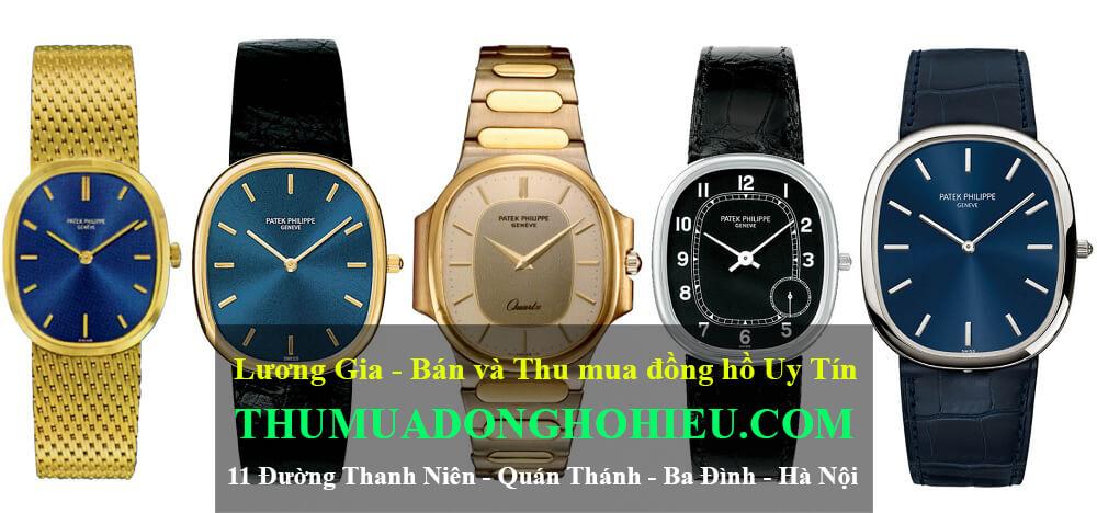 Bộ sưu tập đồng hồ Patek Philippe Golden Ellipse