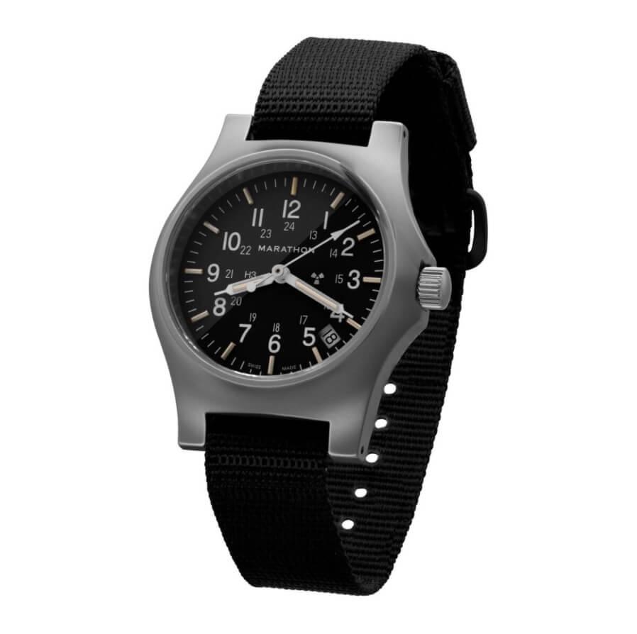 Đồng hồ Tritium Marathon General Purpose Quartz Date WW194015SS-NGM