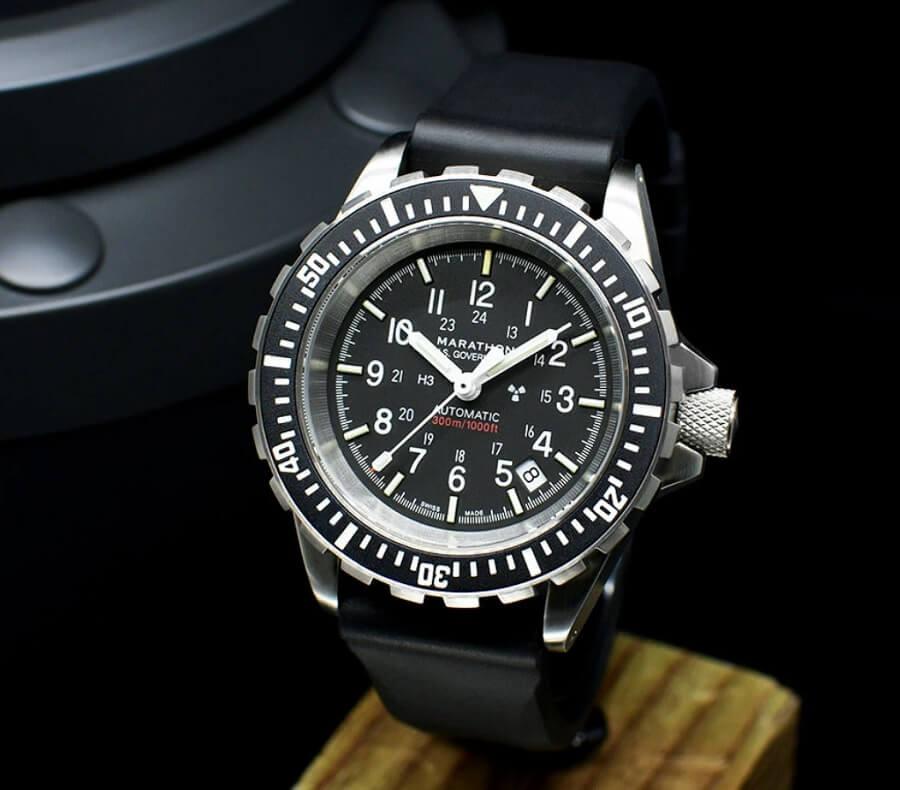 Đồng hồ Tritium Marathon Jumbo Diver / Pilot Automatic Chronograph WW194014