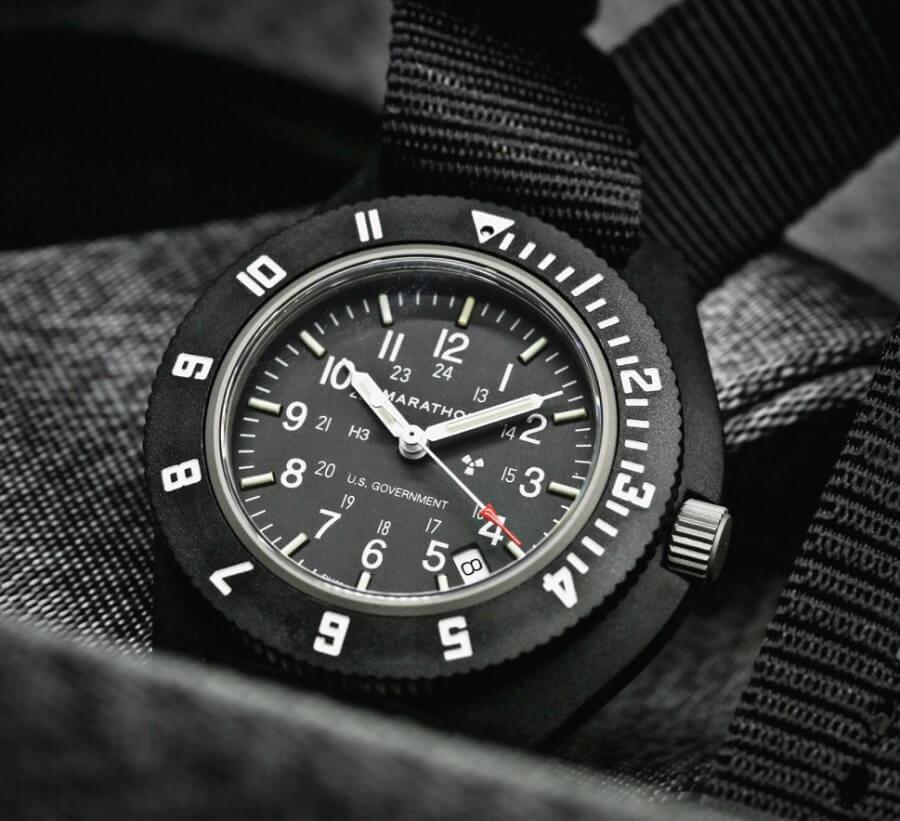 Đồng hồ Tritium Marathon Pilot's Navigator WW194001-S-BK-B