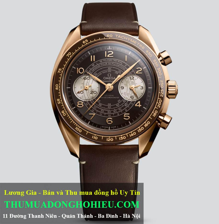 Đồng hồ Omega Speedmaster Chronoscope Bronze Gold