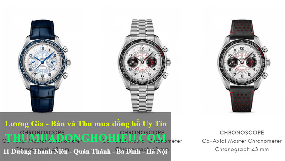 Đồng hồ Omega Speedmaster Chronoscope Thép