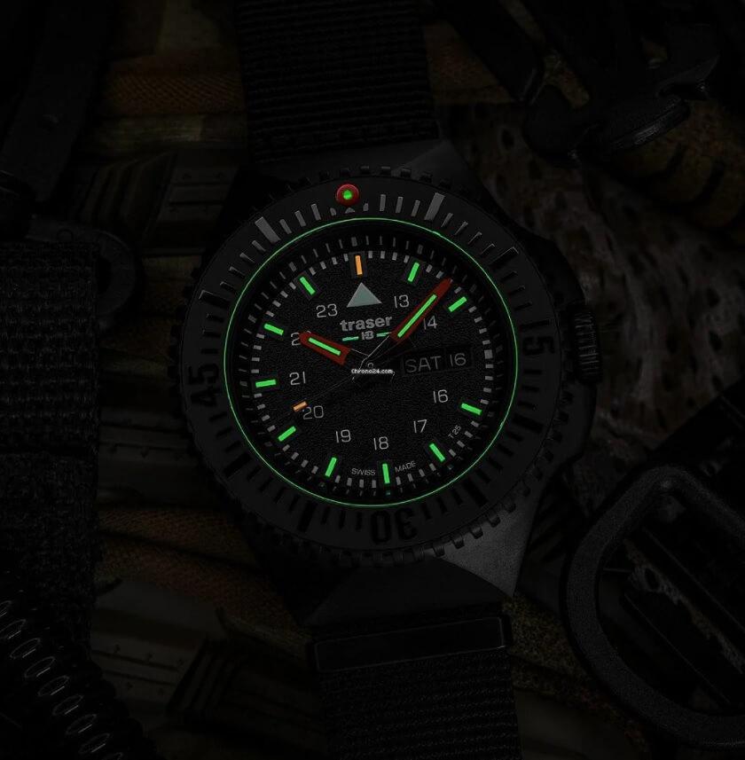 Đồng hồ Tritium Traser P69 Black Stealth Black 109854