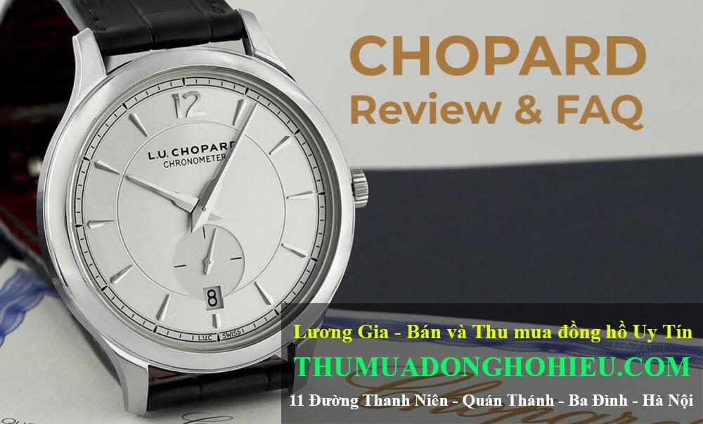 Câu hỏi thường gặp và đánh giá về đồng hồ Chopard