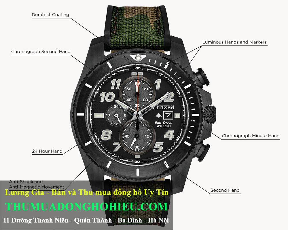 Đồng hồ Citizen Promaster Tough Ref. CA0727-12E