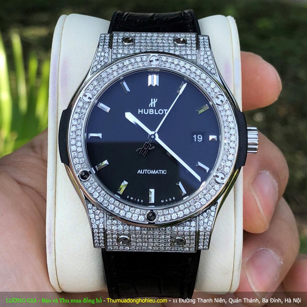 Đồng Hồ Hublot Classic Fusion Black Titanium 542.NX.1171.LR Fullbox 2021