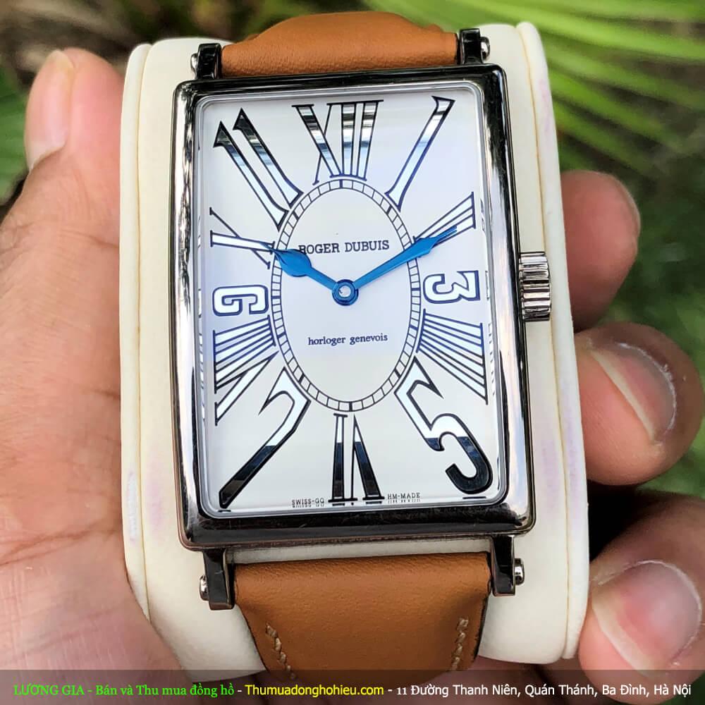 Đồng hồ Roger Dubuis limited Mặt trắng Vàng trắng Size 33x46mm