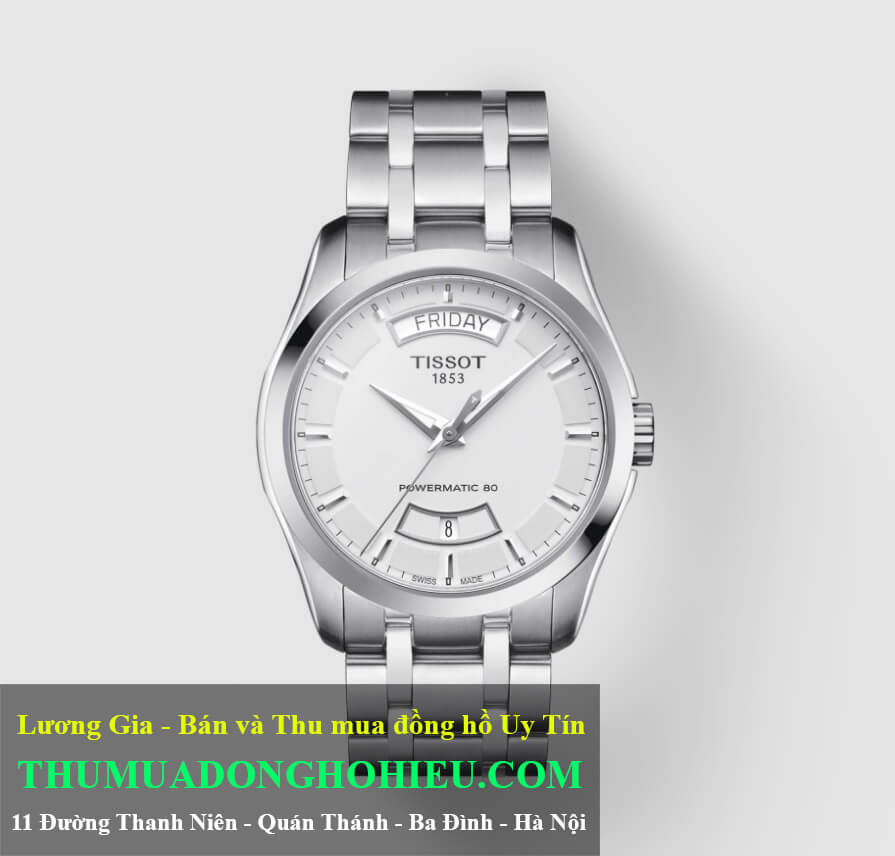 Đồng hồ Tissot T-Classic Couturier Powermatic 80 Ref. T035.407.11.031.01