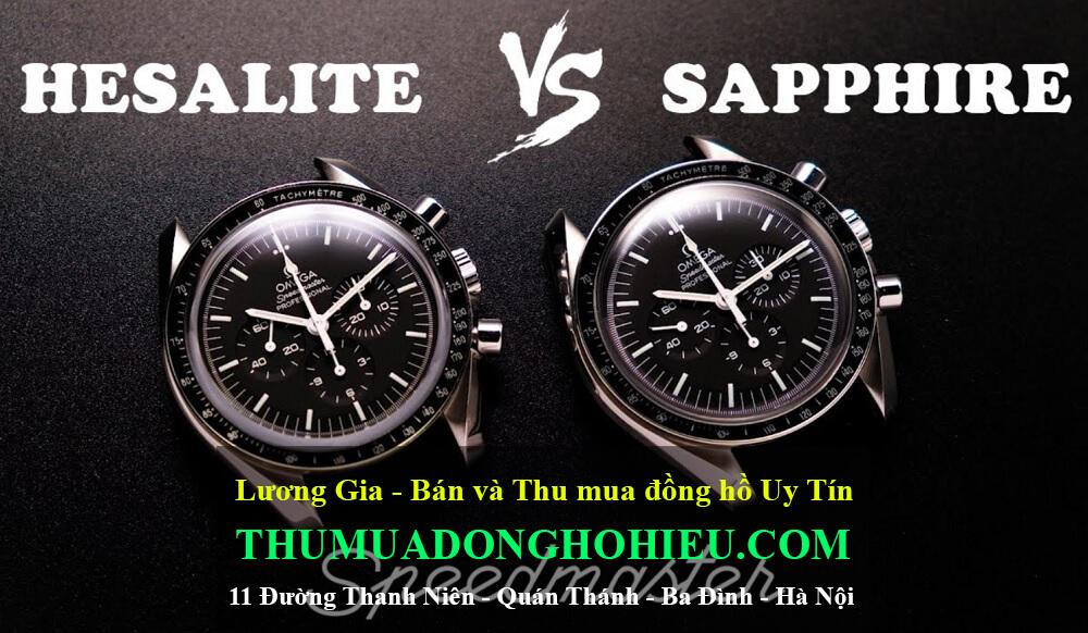 Mặt kính Sapphire hay Mặt kính Hesalite tốt hơn?