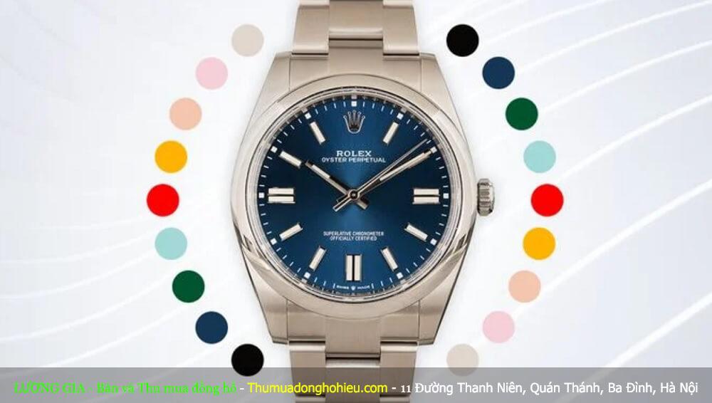 Màu mặt số của bộ sưu tập Rolex Oyster Perpetual Mới