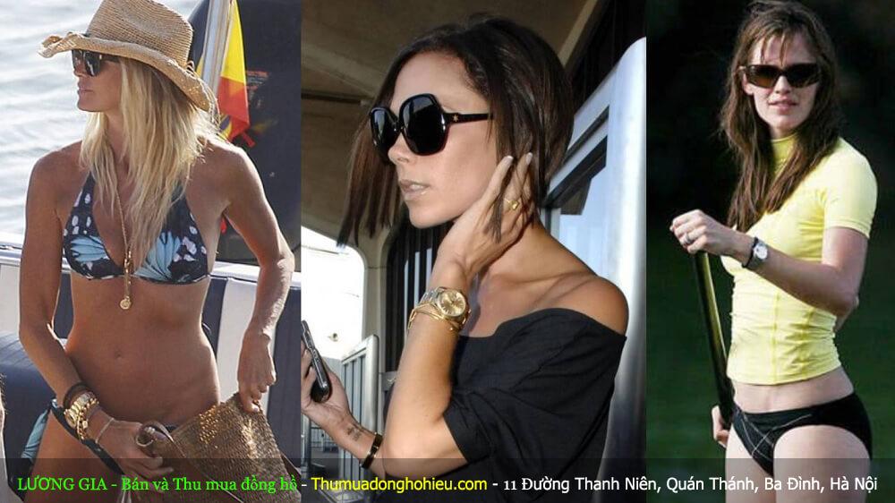 Ngôi sao Nữ và những chiếc đồng hồ Rolex họ đeo