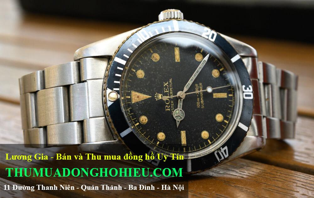 Đánh giá đồng hồ Rolex Submariner 6536 Vintage