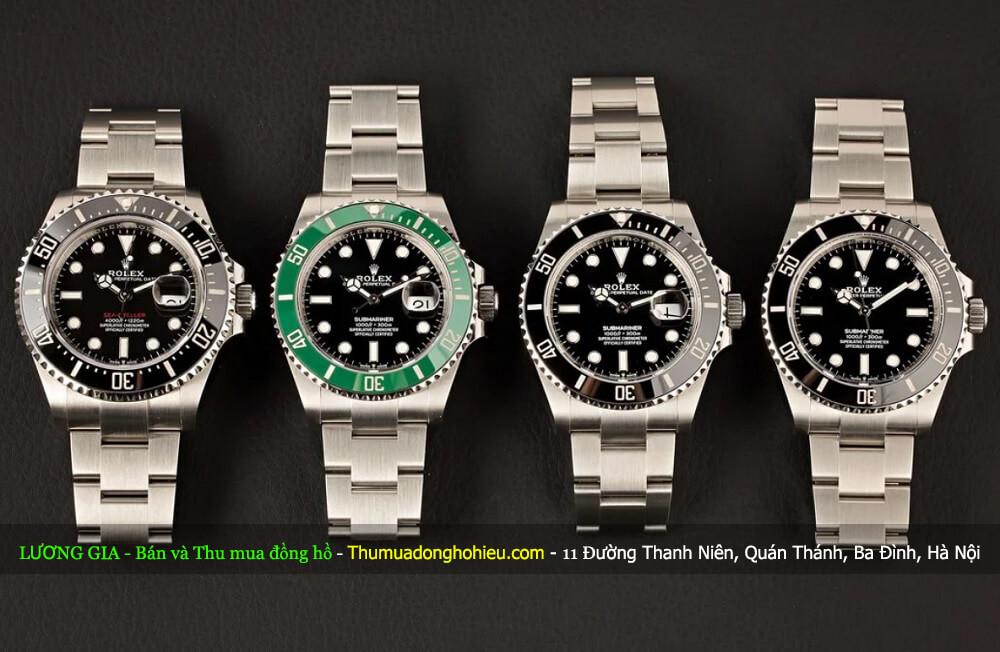 Tìm hiểu về những bộ sưu tập đồng hồ lặn Rolex