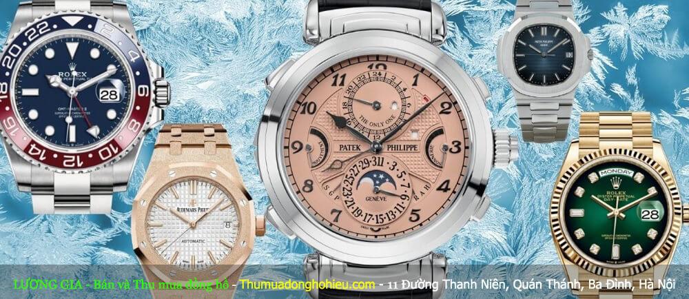 Top 10 thương hiệu đồng hồ nổi tiếng thế giới